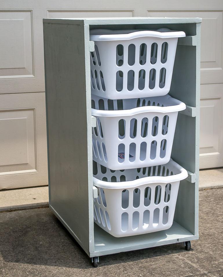 Laundry basket dresser infarrantly creative rolling laundry basket dresser solutioingenieria Gallery