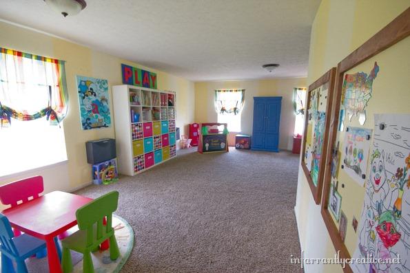 decorating a playroom