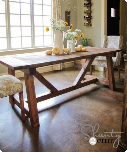 diy-farmhouse-dining-table