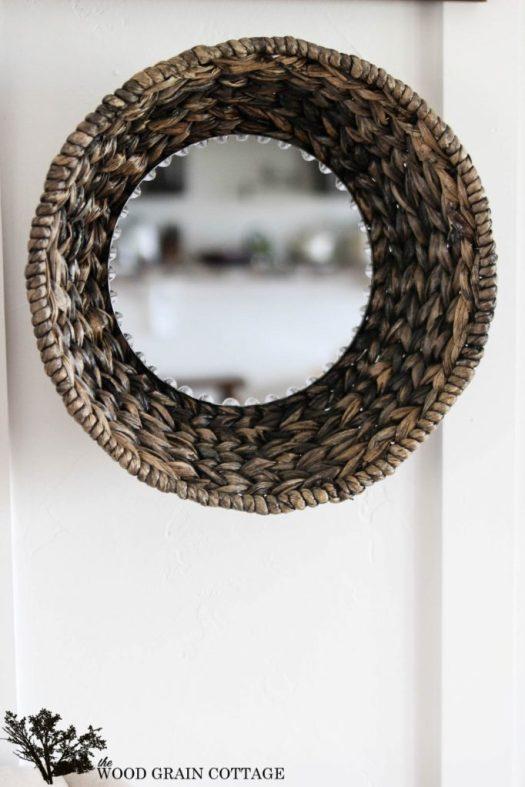 DIY-Wicker-Basket-Mirror