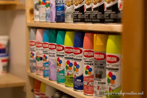 spray-paint-shelf-organization