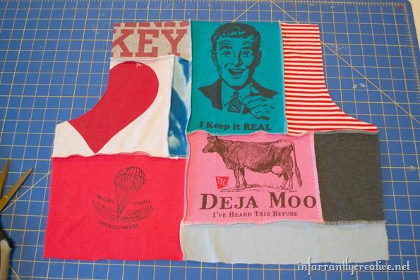 tee shirt short-pattern