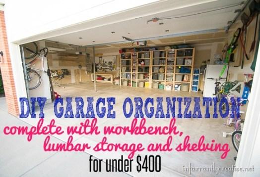 Garage Organization Reveal