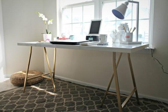 Ikea-desk-hack