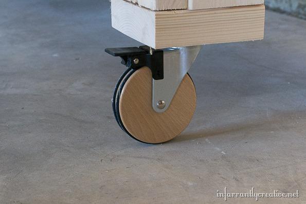 garage organization workbench