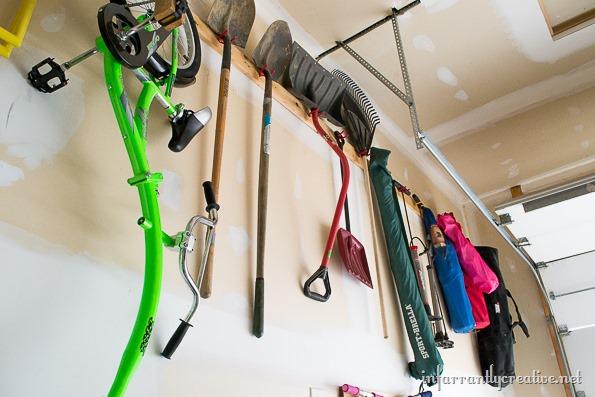 hanging stuff in your garage