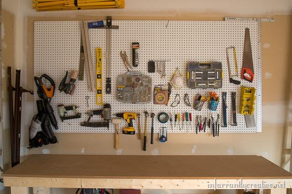 garage organization diy workshop infarrantly creative. Black Bedroom Furniture Sets. Home Design Ideas