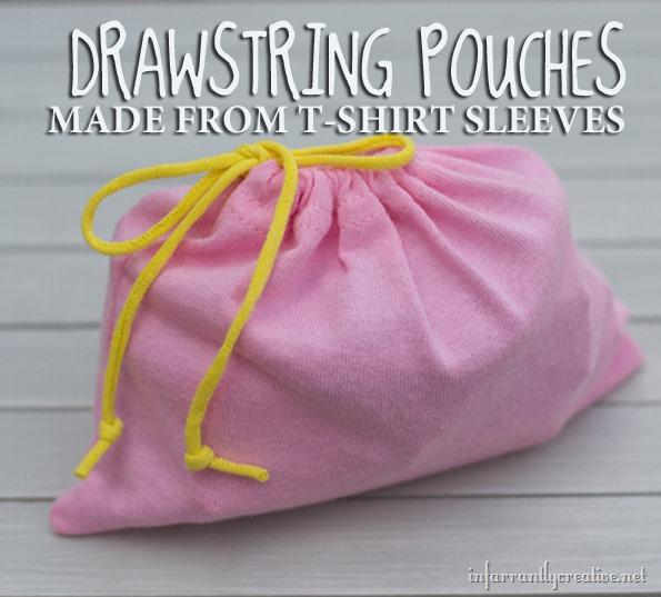 t-shirt sleeve pouches