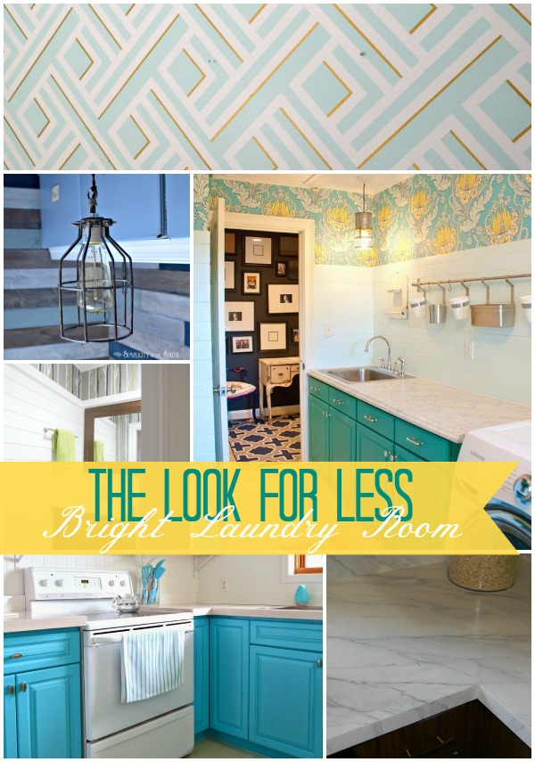 Look for Less Bright Laundry Room