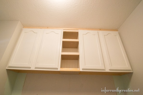 built in mudroom lockers