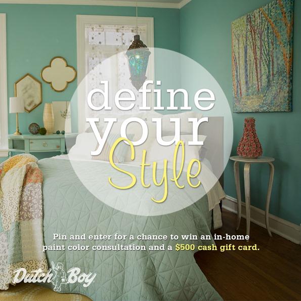 Define Your Style with Dutch Boy