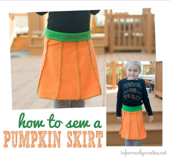 How to Make a Pumpkin Skirt for your Little Pumpkin Pie