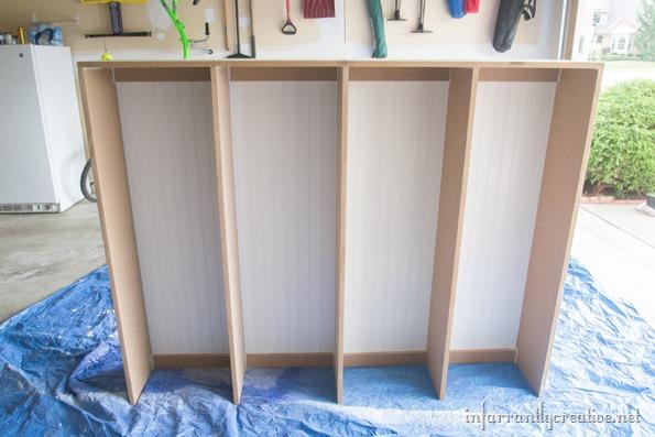 mudroom lockers built in