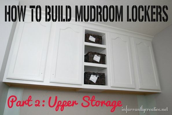 Mudroom Lockers Part 2
