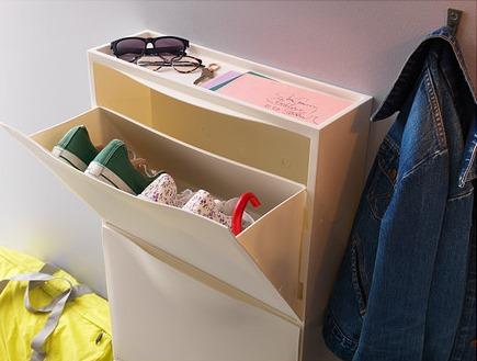 trones shoe storage cabinet