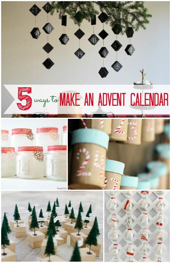 5 Ways to Make an Advent Calendar