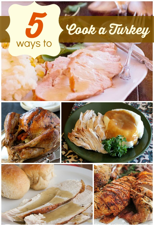 5 Ways to Cook a Turkey