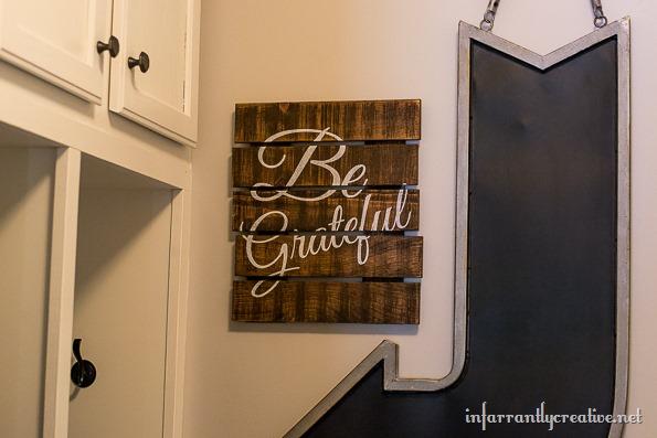 be grateful sign
