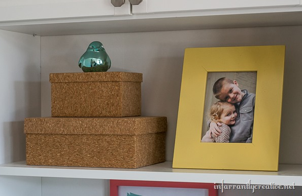decorating shelves