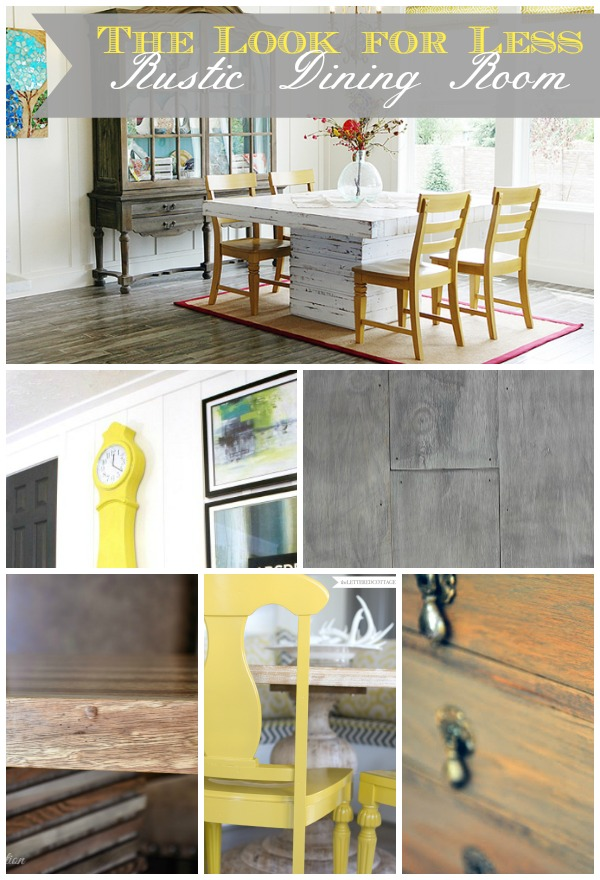 5 Ways To Get This Look Rustic Dining Room Infarrantly