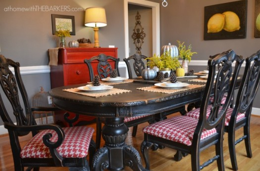 5 Ways to Redo a Dining Room Table  Infarrantly Creative