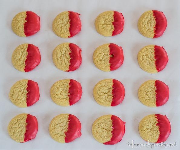 DIY cookie plate