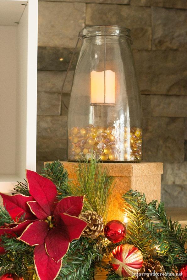 christmas glass lanterns