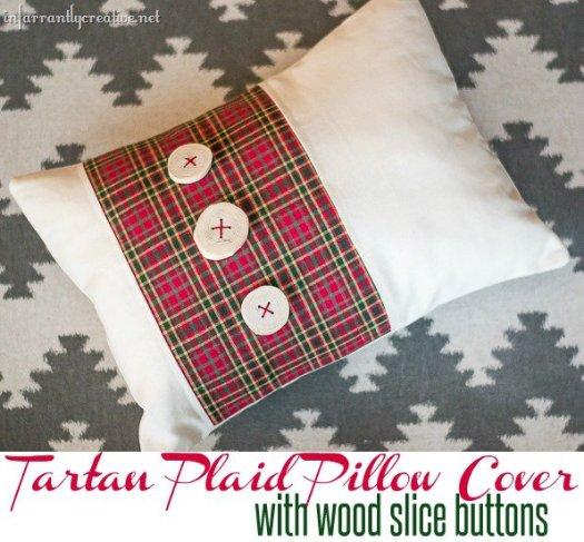 tartan plaid pillow covers