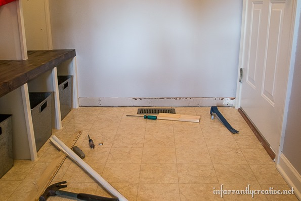 removing baseboards without ruining drywall