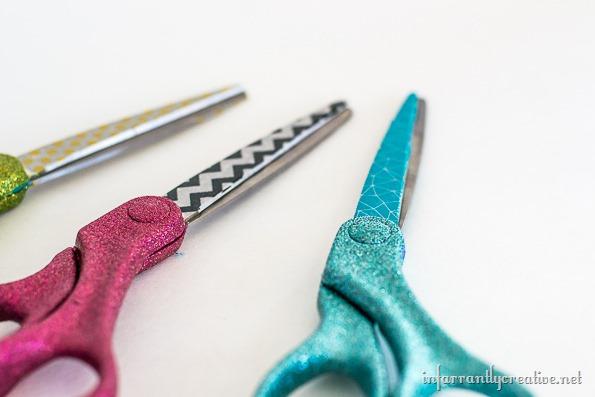 glitter-washi-tape-scissors