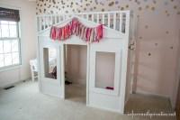 Pottery Barn Cottage Loft Bed Knock-Off - Infarrantly Creative