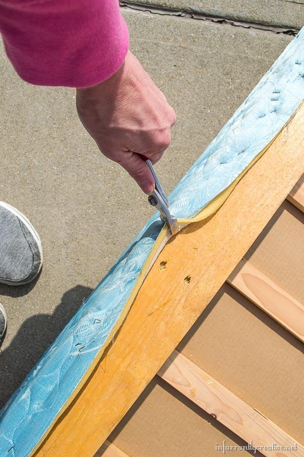 free wood boxspring