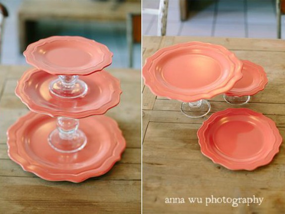 pink-plate-candlestick-cakestand
