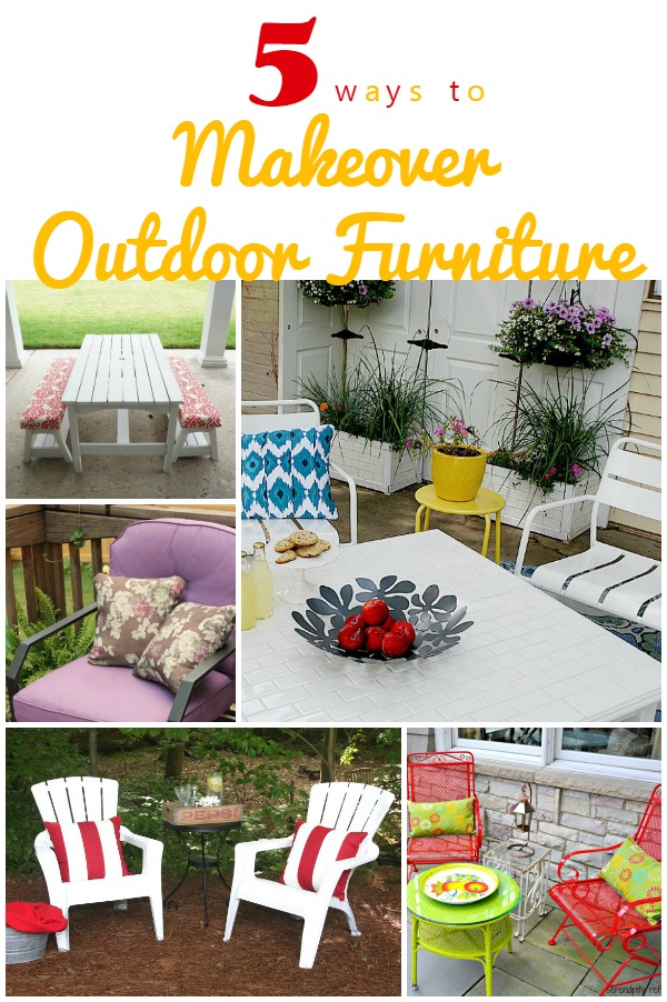 5 Ways to Makeover Your Outdoor Furniture