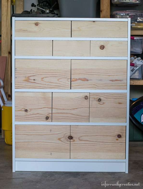 ikea billy bookcase dresser
