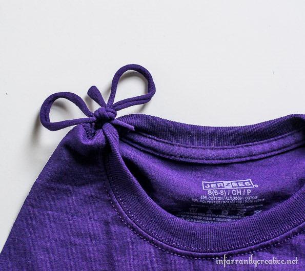 tee shirt fringe swimsuit cover up