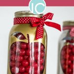 back to school apple mason jar craft