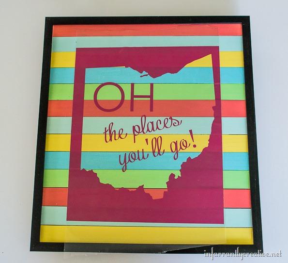 state of ohio DIY sign