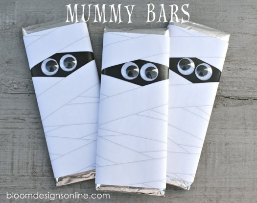 mummy chocolate bars