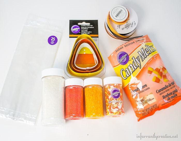 candy corn melts supplies