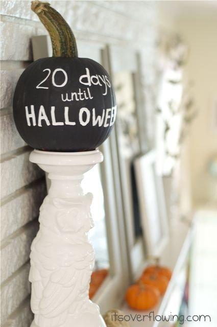 chalkboard-paint-pumpkin