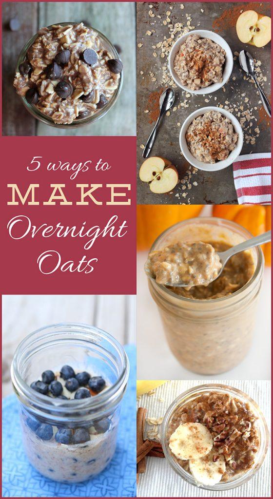 5 Ways to Make Overnight Oats