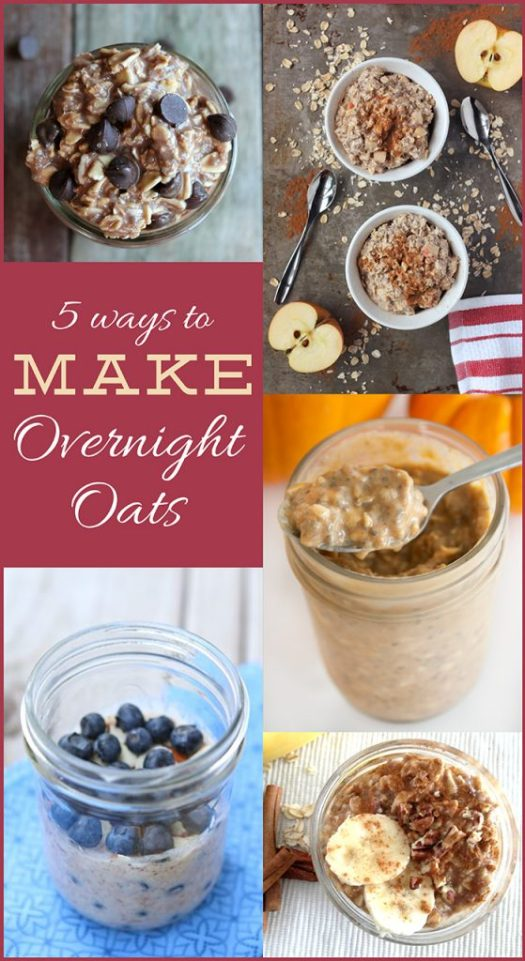 5Ways_OvernightOats_Pinterest