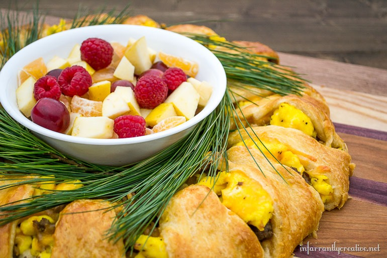 christmas breakfast casserole dish
