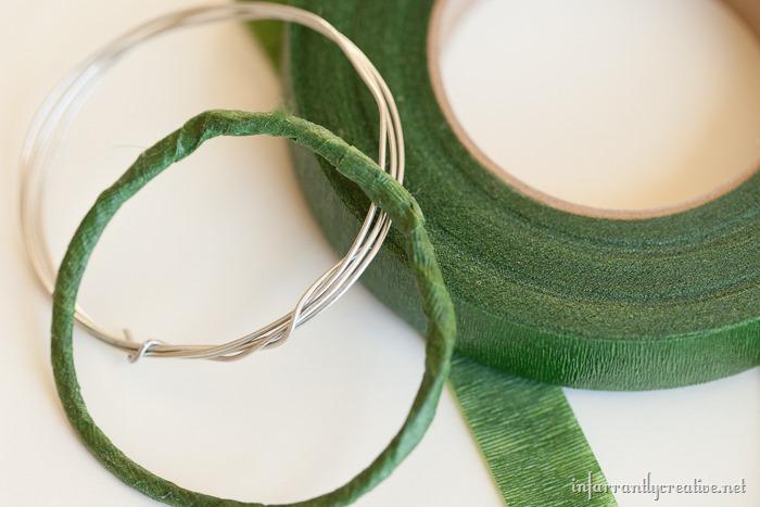 washi tape napkin rings