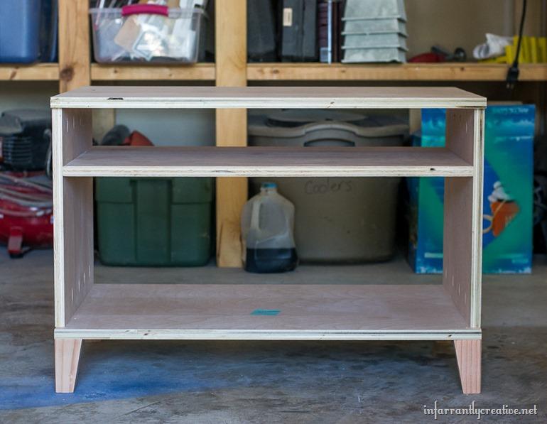 DIY-micentury-modern-media-cabinet