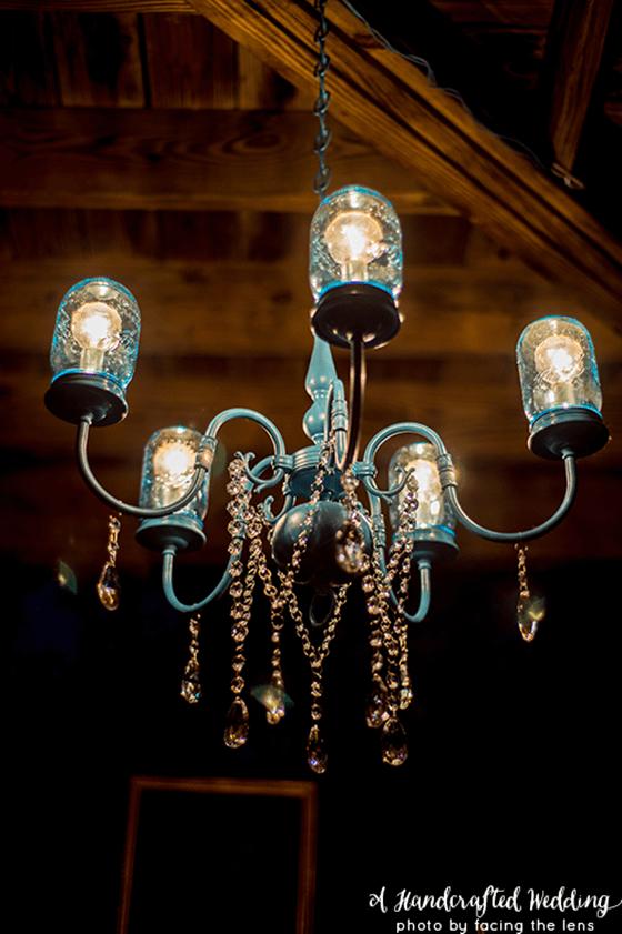 DIY Home Decor ~ How to make a mason jar chandelier