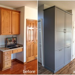 Kitchen Cabinets Columbus Cheap Ideas How To Assemble An Ikea Sektion Pantry - Infarrantly Creative