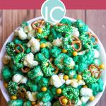 St. Patrick's Day Sweet & Salty Popcorn Mix