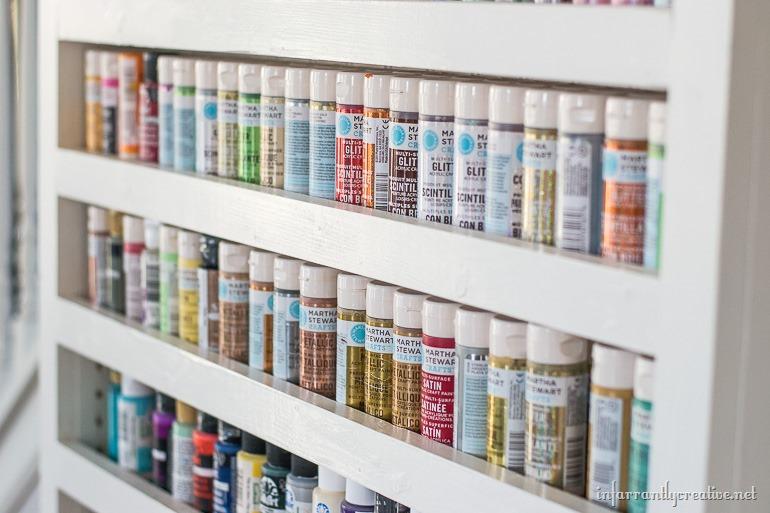 craft-room-paint-storage
